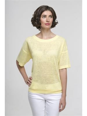 Блузка Modern. Цвет: желтый