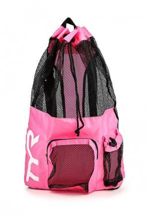 Рюкзак TYR. Цвет: розовый