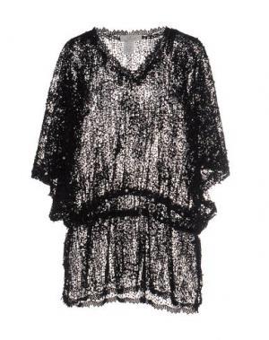 Блузка FAUST. Цвет: черный