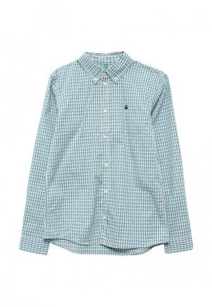 Рубашка United Colors of Benetton. Цвет: мятный