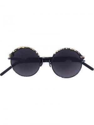 Солнцезащитные очки Mask Z1 Kuboraum. Цвет: чёрный