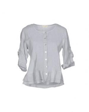 Pубашка CLUB VOLTAIRE. Цвет: светло-серый