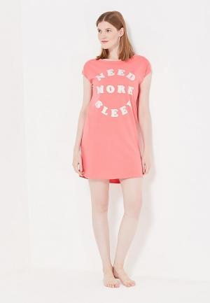 Сорочка ночная womensecret women'secret. Цвет: розовый