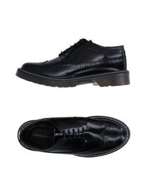 Обувь на шнурках ALBERTO BRESSAN. Цвет: черный