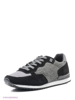 Кроссовки UN1TA. Цвет: серый, черный