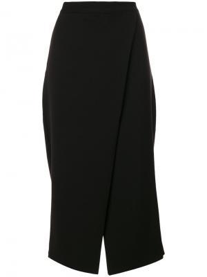 Укороченные брюки Ioana Ciolacu. Цвет: чёрный