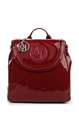 Рюкзак Armani Jeans. Цвет: бордовый