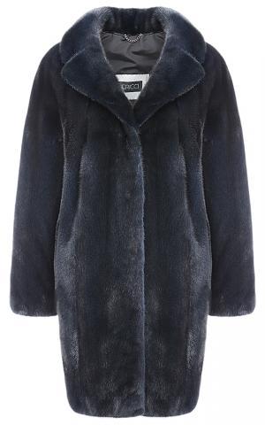 Пальто из аукционного меха норки KOPENHAGEN FUR Vericci