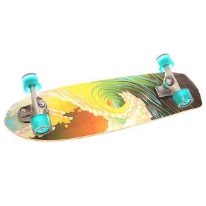 Скейт круизер  C7 Complete Greenroom Assorted 9.75 x 34 (86.3 см) Carver. Цвет: мультиколор