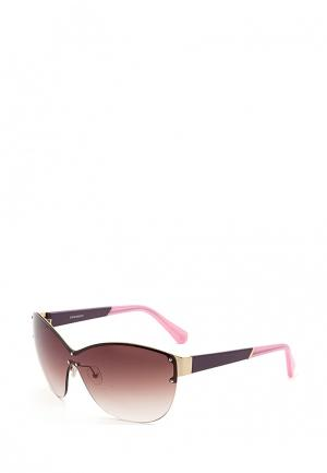 Очки солнцезащитные Enni Marco. Цвет: розовый