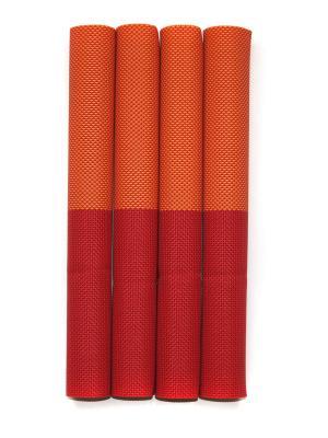 Плейсматы, 4 шт DiMi. Цвет: оранжевый, красный