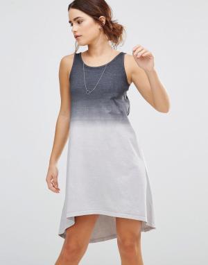 Uncivilised Платье асимметричной длины. Цвет: серый