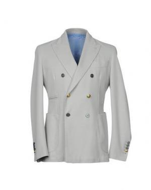 Пиджак JOHN SHEEP. Цвет: серый