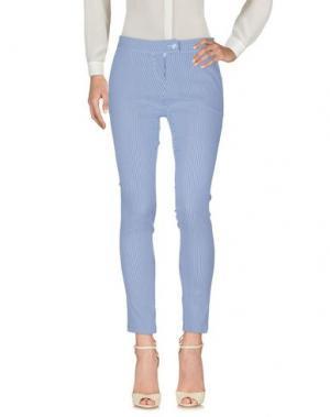 Повседневные брюки ANDREA MORANDO. Цвет: синий