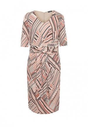 Платье Gerry Weber. Цвет: разноцветный