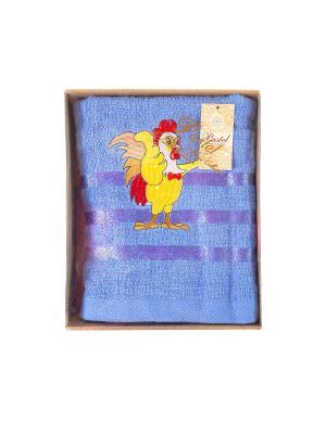 Полотенце банное La Pastel. Цвет: сиреневый