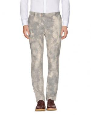 Повседневные брюки DANIELE ALESSANDRINI. Цвет: слоновая кость