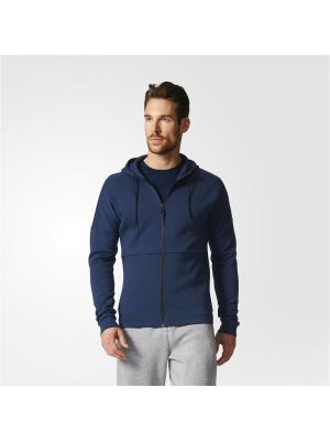 Толстовка ID STADIUM FZ  CONAVY Adidas. Цвет: темно-синий