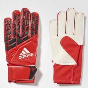 Вратарские перчатки ACE JUNIOR  Performance adidas. Цвет: красный