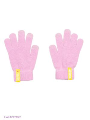 Перчатки TRUESPIN Touchgloves True Spin. Цвет: розовый, бледно-розовый