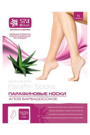 Парафиновые носочки SPA BELLE. Цвет: none