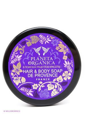 Мыло для волос и тела Густое прованское 300 мл. PLANETA ORGANICA. Цвет: фиолетовый