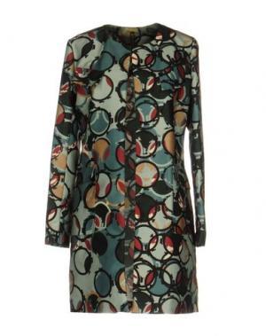 Легкое пальто MANILA GRACE. Цвет: зеленый
