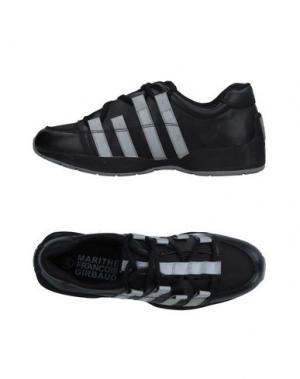 Низкие кеды и кроссовки MARITHÉ + FRANÇOIS GIRBAUD. Цвет: черный