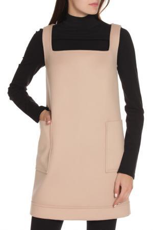 Свободное платье с длинным рукавом DSquared2. Цвет: 121