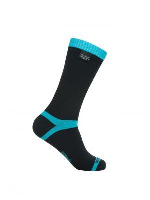 Водонепроницаемые носки DexShell Coolvent Aqua Blue. Цвет: голубой, черный