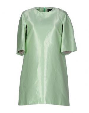 Короткое платье JO NO FUI. Цвет: светло-зеленый