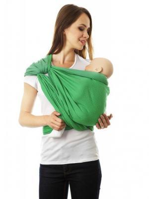 Слинг-шарф Mum`s Era. Цвет: зеленый,светло-зеленый