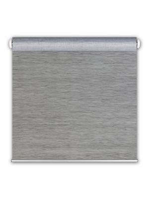 Штора рулонсизаль 3D 60x175 серый DECOFEST Штора_рулон_сизаль_3D_60x175_серый