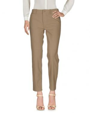 Повседневные брюки NLST. Цвет: хаки