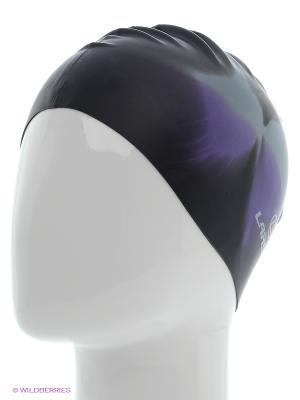 Шапочка плавательная Larsen. Цвет: черный