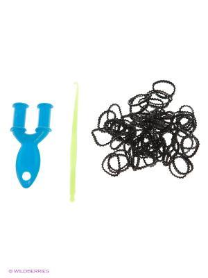 Резинки для плетения Loom Bands. Цвет: черный