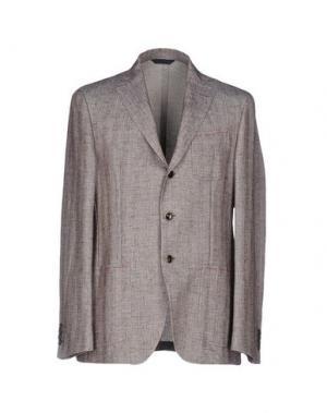 Пиджак SARTORIA LATORRE. Цвет: голубиный серый