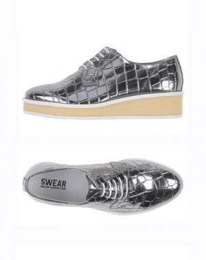 Обувь на шнурках SWEAR-LONDON. Цвет: серый
