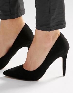 Head Over Heels Черные туфли‑лодочки на каблуке By Dune Addyson. Цвет: черный