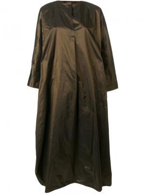 Платье-шифт Daniela Gregis. Цвет: металлический