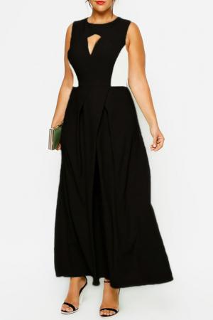 Платье Ardatex. Цвет: black and white