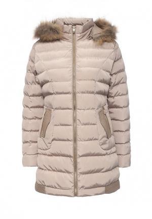Куртка утепленная Softy. Цвет: бежевый
