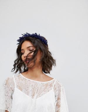 Rock 'N' Rose Венок на голову с сухоцветами лаванды N. Цвет: фиолетовый