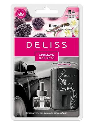 Автомобильный ароматизатор, комплект Deliss. Цвет: бордовый