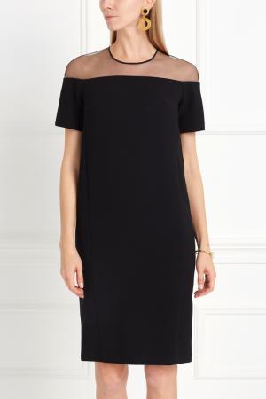 Однотонное платье NATALIA GART. Цвет: черный