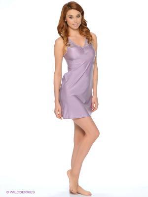 Ночная сорочка Lauma. Цвет: фиолетовый