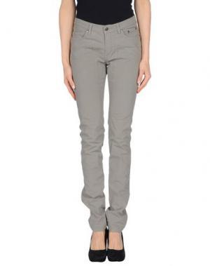 Повседневные брюки JECKERSON. Цвет: голубиный серый