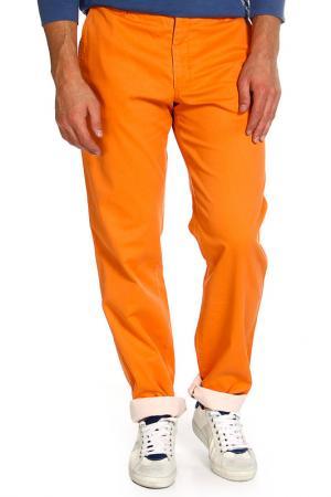 Брюки Armani Collezioni. Цвет: оранжевый