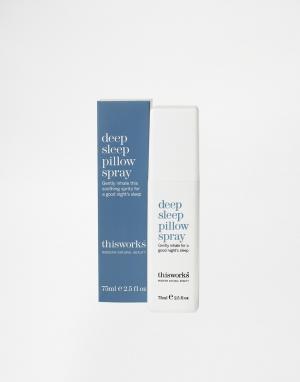 This works Спрей для подушки Deep Sleep Pillow Spray, 75 мл. Цвет: бесцветный