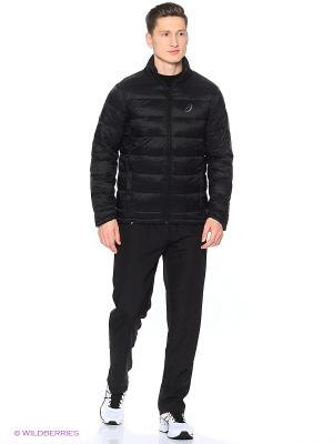 Куртка PADDED JACKET ASICS. Цвет: черный